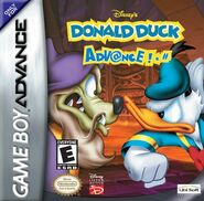 Donald& Merlock-Donald Duck Advance