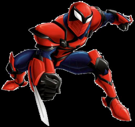 Ultimate spider man web warriors spider knight