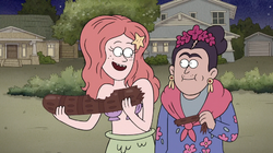 Ariel in Regular Show