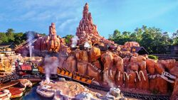 Big Thunder Mountain Railroad at Magic Kingdom