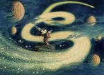 Sorceror Mickey Concept Art 24