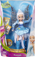 Periwinkle pirate fairy doll
