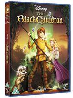The Black Cauldron UK DVD 2014