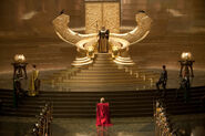 Odins throne room Asgard
