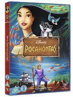 Pocahontas UK DVD 2014