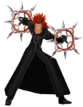Axel (Action Render) KHII