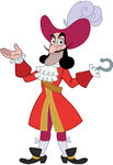 Captain Hook's design for Jake and the Never Land Pirates