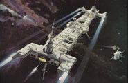 132c Cinef V9 3 n 4 1980 early Centaurus (Artist Bob McCall) m