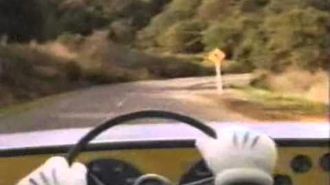 Mickey's Driving Scene