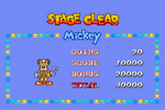 Disney's Magical Quest 2 Starring Mickey and Minnie Stage Clear 1