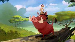 Timon and Pumbaa Lion Guard