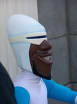 Frozone Close Up Disneyland