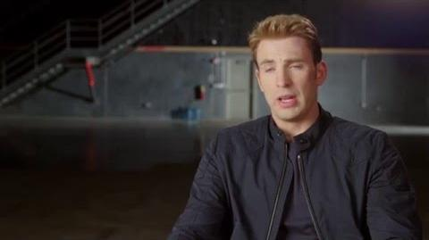 "Captain America Civil War Behind-The-Scenes ""Captain America"" Interview - Chris Evans"