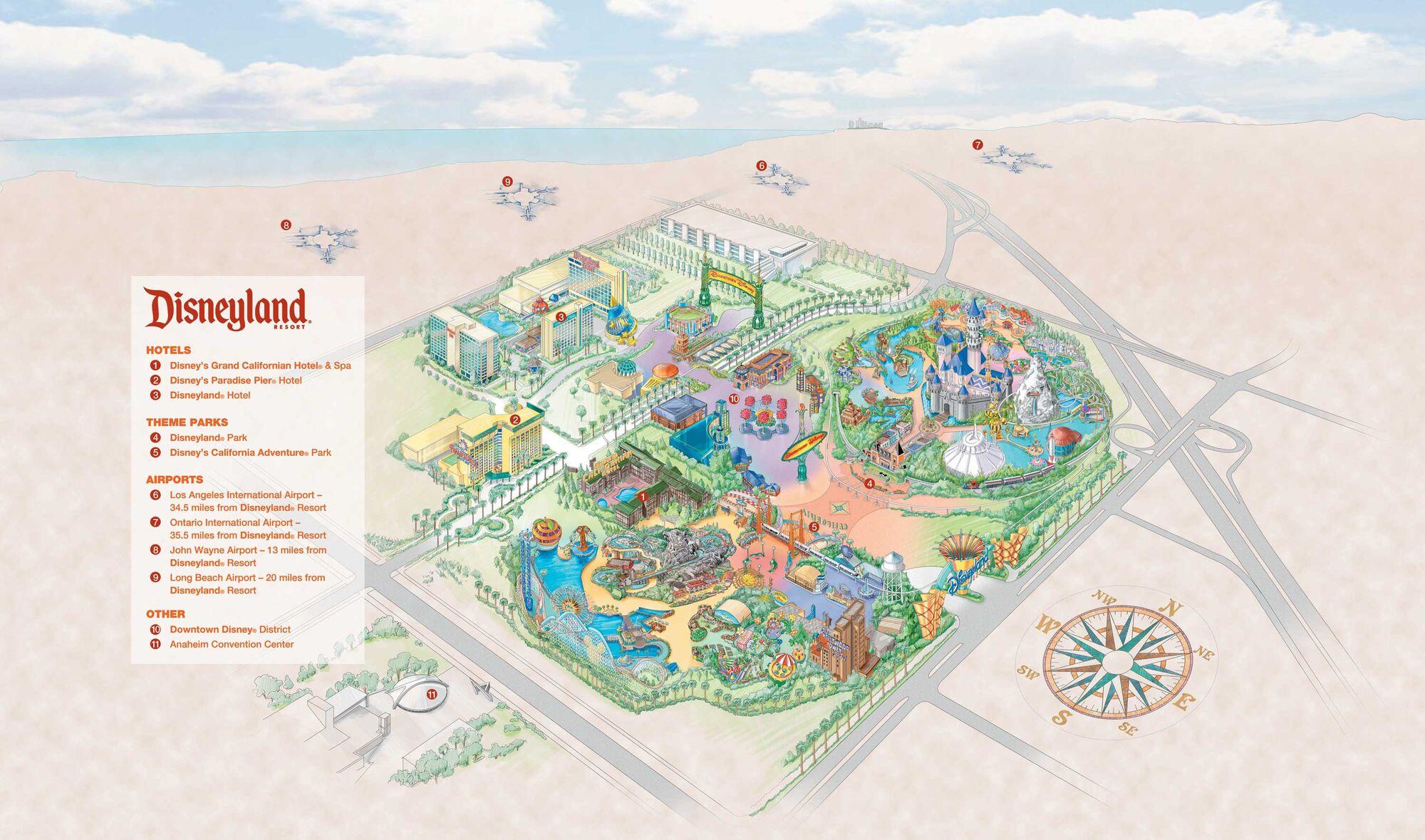 Image  Disneyland Resort Mapjpg  Disney Wiki  FANDOM powered