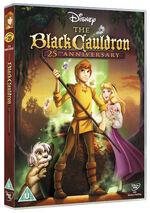 The Black Cauldron 2010 UK DVD