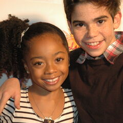 Skai Jackson and Cameron Boyce