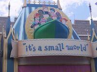 It's a Small World Magic Kingdom