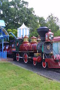 Walt disney world railroad no 4
