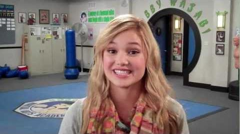 "Kickin' It Olivia Holt ""Kim"" Disney XD"