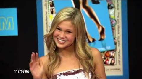 EXCLUSIVE Olivia Holt at the Prom premiere 2011