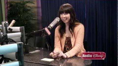 "Carly Rae Jepsen Radio Disney ""Take Over"" and ""Call Me Maybe"" Rap"