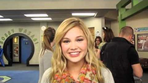 OLIVIA HOLT On Kickin' It's New Season!