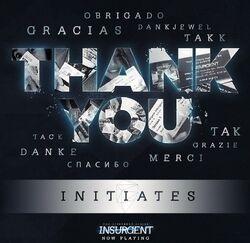 Insurgent Movie Thanks