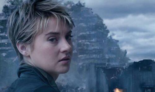 Tris Prior in Insurgent