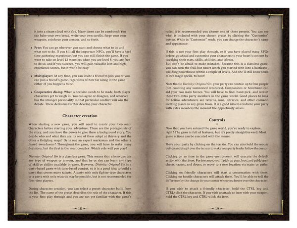 DOS Game Manual Page 10