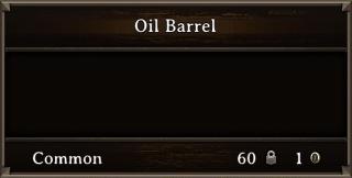 DOS Items CFT Oil Barrel Stats