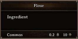 DOS Items CFT Flour