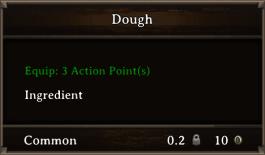DOS Items FnD Dough