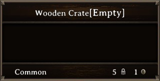 DOS Items Cntr Wooden Crate Stats