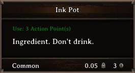 DOS Items Tools Ink Pot