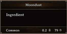 DOS Items CFT Moondust