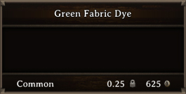 DOS Items CFT Green Fabric Dye