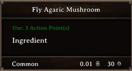 DOS Items CFT Fly Agaric Mushroom