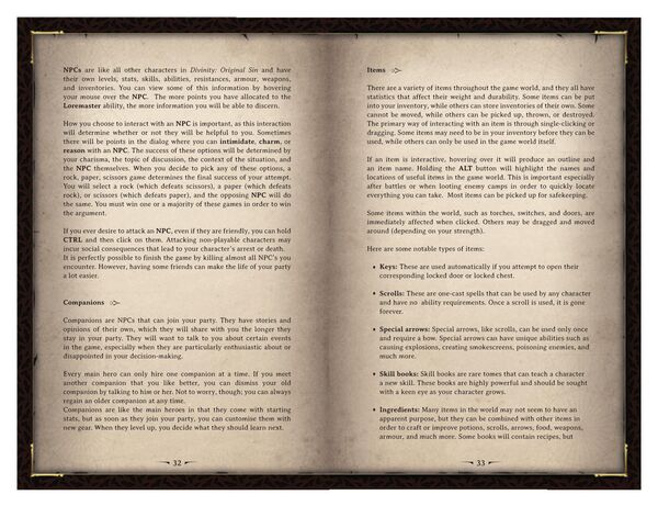 DOS Game Manual Page 17