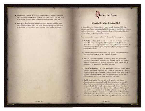 DOS Game Manual Page 9