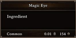 DOS Items CFT Magic Eye