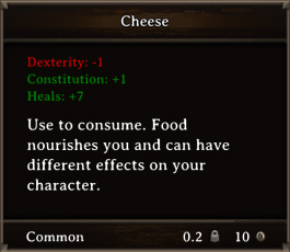 DOS Items FnD Cheese