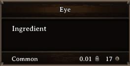 DOS Items CFT Eye