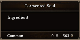 DOS Items CFT Tormented Soul