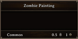 DOS Items Junk Zombie Painting