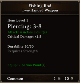 DOS Items Misc Fishing Rod