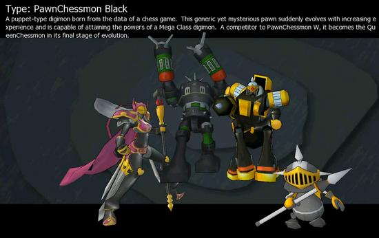 PawnChessmon (Black)