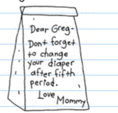 LunchBag for Greg