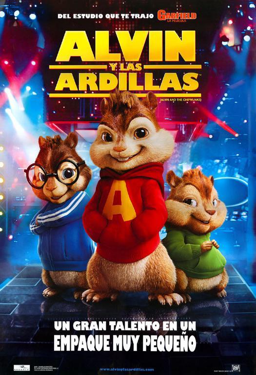 Alvin y las ardillas pel cula doblaje wiki fandom for Alvin y las ardillas