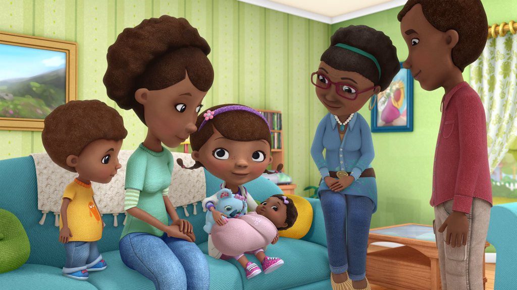 Image result for doc mcstuffins adoption