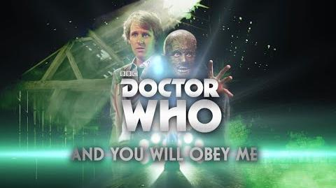 Doctor Who And You Will Obey Me